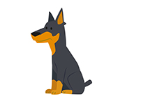 Custom Dog Illustrations