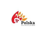 Polska - logo on Expo in Mediolan 2015 r. (concept)