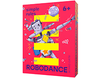 "Board Game ""Robodance"""