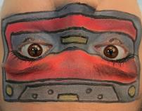 Cassette eyes