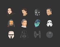 Star Wars Rogue One - Characters