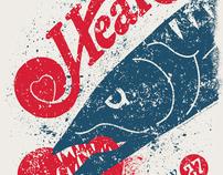 HEART Concert Poster