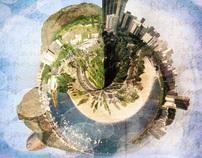 Projeto Pessoal - Panorama da Cidade do Rio.