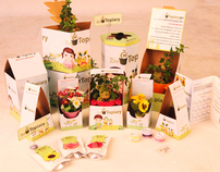 package design - topiary