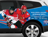 WJAC Event Logo and Partial Vehicle Wrap