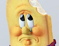TWINKIE illustration for Fortune magazine