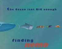 finding nemo poster redesign