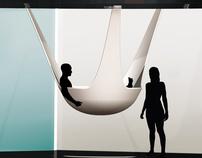 SPAce /suspended bathtub+shower/