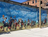 Mosaic Church - Basketball Court Kids Mural