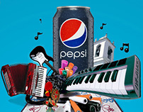 The Pepsi Project: Integrated Campaign