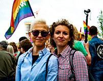 Anti-Hate demonstration Warsaw, July 2019
