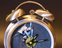 Small Planets on Wall Clocks & Alarm Clocks
