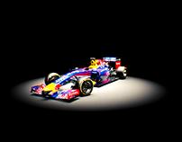 F1 Red Bull Infiniti - 3D Render