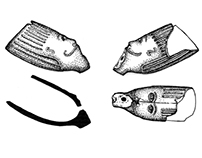 Archaeological Finds Illustrations