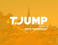 ODTU TEKNOKENT / T-JUMP - Logo, Web Design & Video