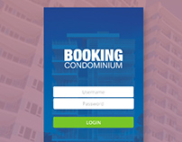 Booking Condominium Apps Concept