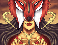 "Illustration: ""Soul of Fox"""
