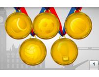 Olimpíadas 2012 - Netshoes - lojagloboesporte.com