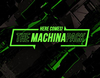 MACHINA - Broadcasting Pack Design