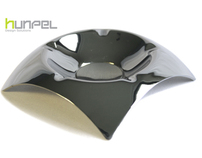 Stainless steel ashtrays by Hunpel