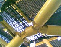 TAG Metal Stairway by HUNPEL