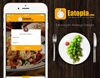 Eatopia.com App Redesign Concept