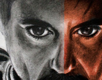 Illustration- Tony Stark/ Iron Man