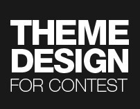 Web design for theme contest