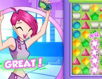 Art Proposal for Winx Games
