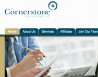 Cornerstone Solutions website