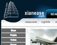 Xianease City Guide Website