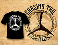 Chasing Tail Fishing Crew - T-shirt Designs