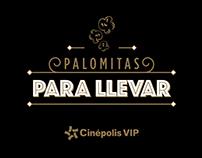 Palomitas Cinépolis VIP