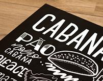 Cabana Burger • Lousa + Posca