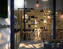 Bahane Cafe&Bar Interior-Exterior Design, Moda,Istanbul