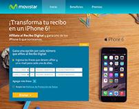 """Diseño Site """"Transforma tu recibo a digital"""" 2014"""