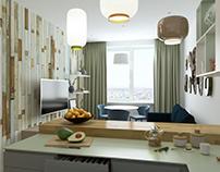 #108 - Studio and Hallway