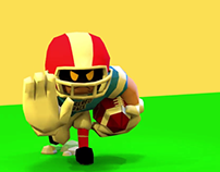 Football Player Animation Reel - For Ludum Dare 41
