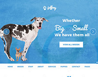 JOFFREY - HTML5 Website Template For Dog Lovers