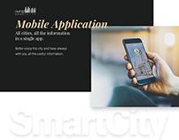 | InfoSmartCity app - Redesign |