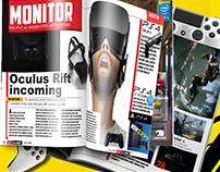 Indesign Gaming Magazine  Template