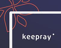 Keepray - UX/UI Web Design