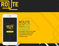 Route App Design