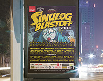 Sonic Boom Sinulog Blastoff 2013 Collaterals