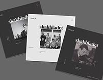 Skakbladet / Chess magazine / Redesign