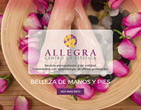 Estética Allegra - Diseño de Landing Page en WordPress