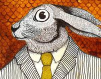 El conejo careta