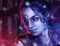 Rey of Star Wars: The Force Awakens - Fan Art Fifteenth