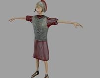 Roman Soldier, 3D