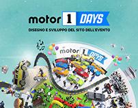 Motor1Days 2019 website